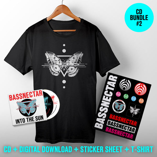 Bassnectar Into The Sun - CD + T-shirt + Stickers