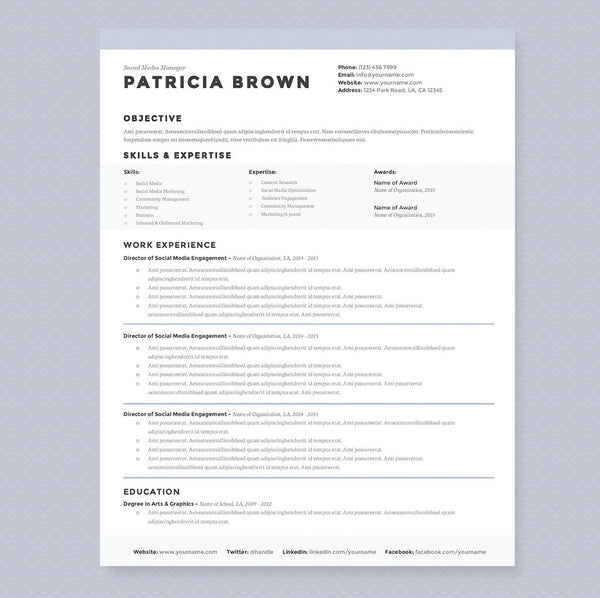 Clean Resume Cover Letter References Template Package - Cv-clean-resume