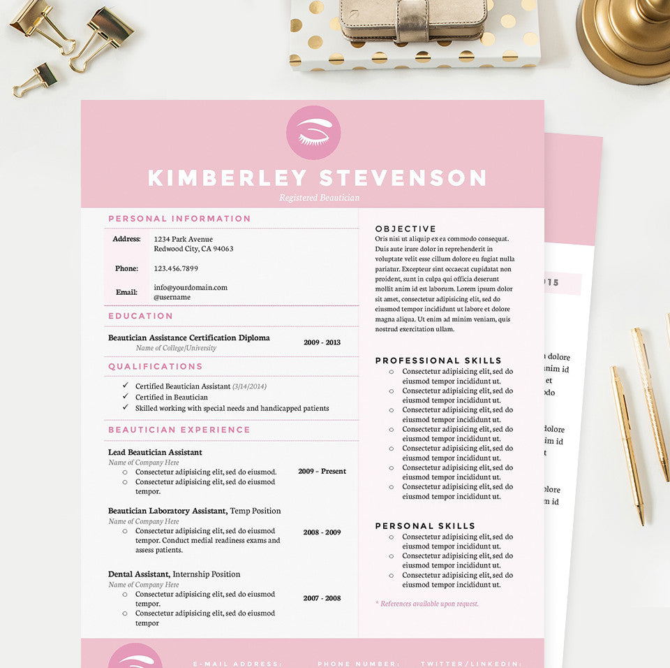 makeup artist resume cover letter reference template package makeup artist resume cover letter reference template package