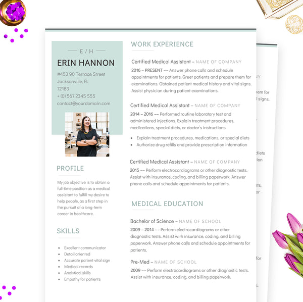 cv nurse resume template
