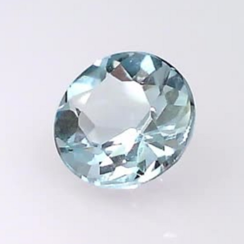 0.40 ct. natural Round Aquamarine