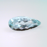 2 ct. natural Pear Aquamarine