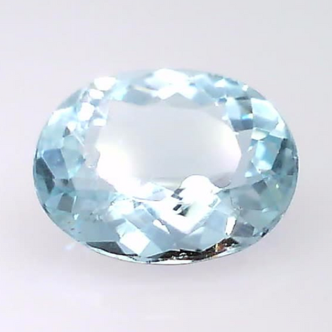 0.95 ct. natural Aquamarine