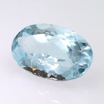 0.94 ct. natural Elongated Oval Aquamarine