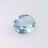 0.34 ct. natural Aquamarine, Oval shape