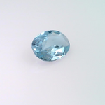0.56 ct natural Aquamarine, Oval shape