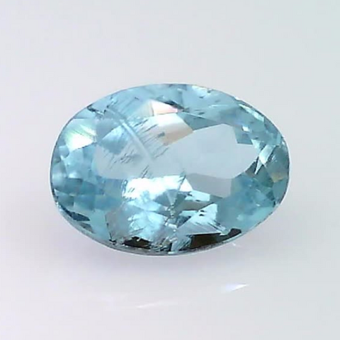 0.80 ct. natural Oval Aquamarine