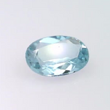 0.36 ct natural Aquamarine, Oval shape