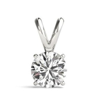 Classic 4 prong Solitaire Pendant Mounting (Round)