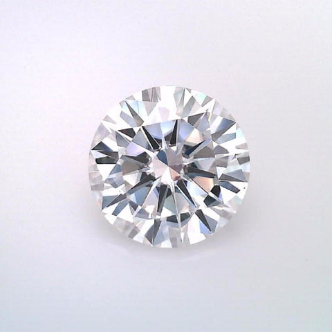 8.0MM Round Moissanite - F,VVS2, ★★★★