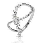 Diamonds Infinity Fashion Style Ring