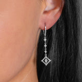 Timeless Diamond Drop Earrings