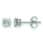 Moissanite Stud Earrings
