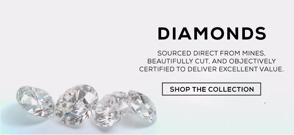 We sell loose diamonds, certified using objective technology by ImaGem.