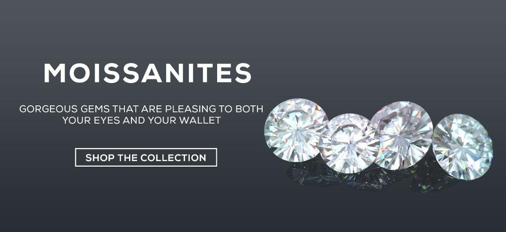 We sell certified moissanites and moissanite jewelry at the best prices. Charles & Colvard Forever One, Pure Light , True Light, Forever One Hearts and Arrows