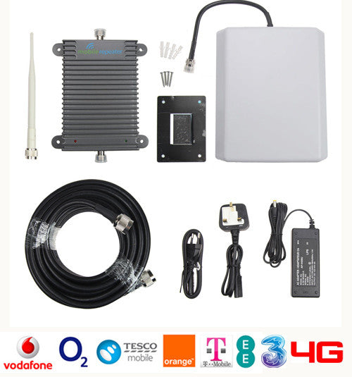 Signal Booster - Tri-Band - 1,000 SQM - 75 Users