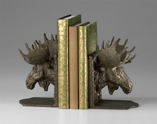 Mad Moose Bookends