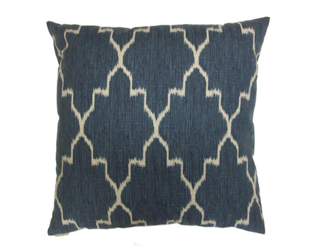 Blue Sweep Down Pillow- 24x24 - Set of 2