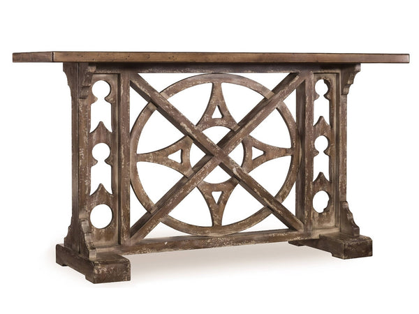 "Compass Console Table- 59x19 32""h"