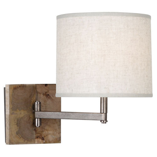 "Hideout Swing Arm Wall Sconce 11.375""h"