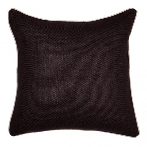 Casual Chocolate Down Pillow- 22x22 - Set of 2
