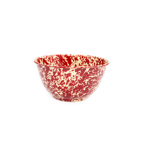 Splatter Large Salad Bowl - 4 quart