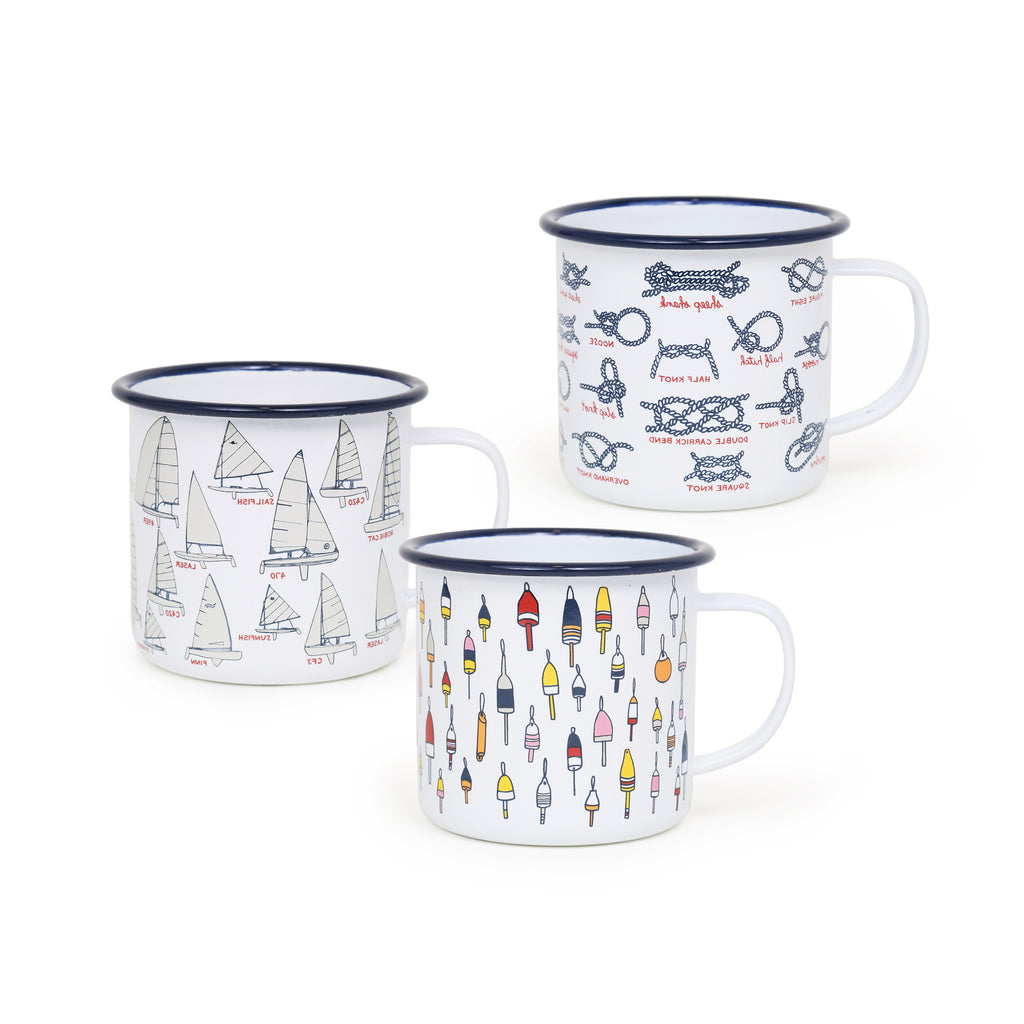 Fishs Eddy x CCH 16 oz Mug Sampler Set - 6 piece