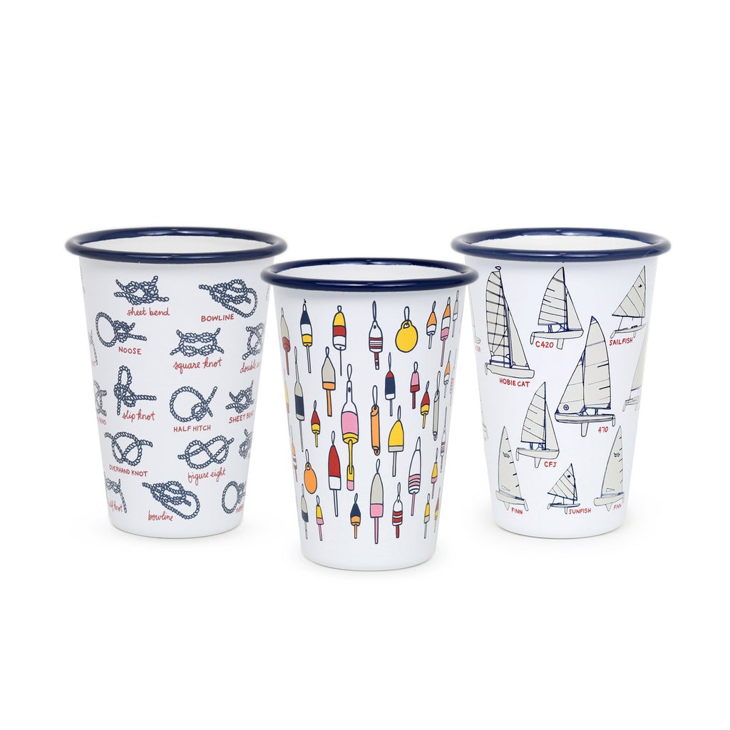 Fishs Eddy x CCH 14 oz Tumbler Sampler Set - 6 piece