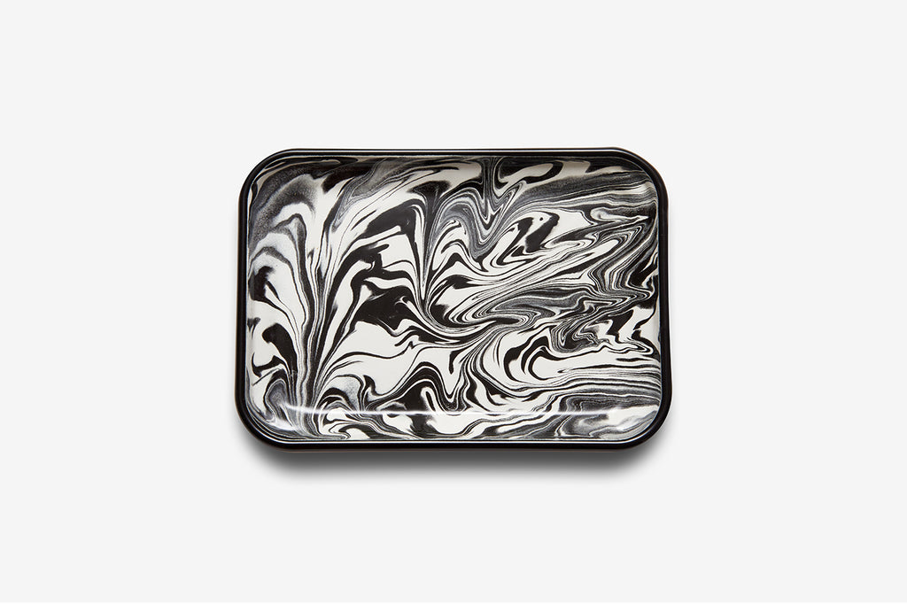 Bornn Swirl Rectangular Tray