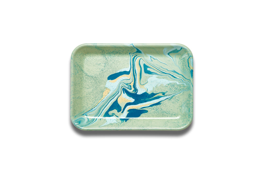 Bornn Multi Swirl Rectangular Tray