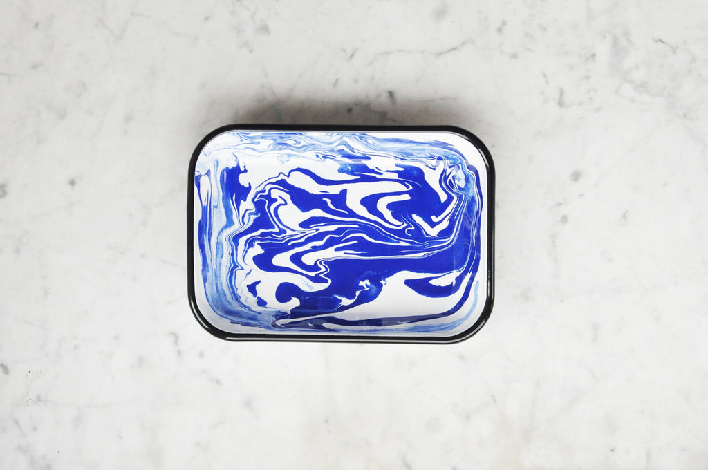 BORNN SWIRL / MARBLE MEDIUM RECTANGULAR DISH