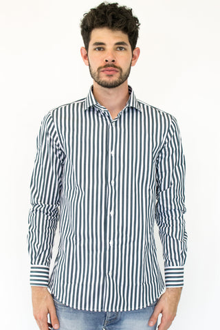 Shirt Vertical Stripes - 1 2605