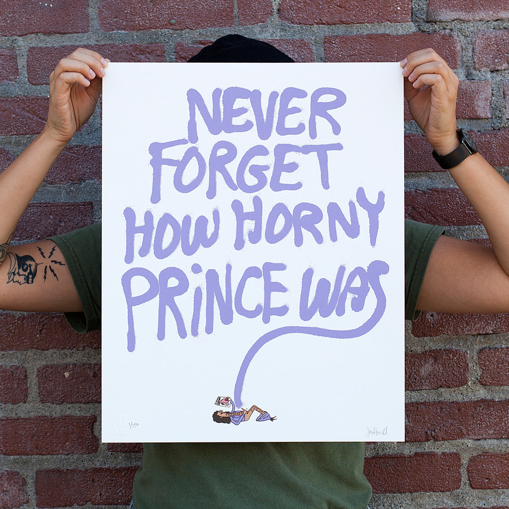JAY HOWELL: FOR PRINCE