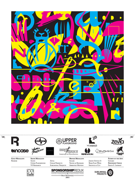 Ryan McGinness: Sponsorship