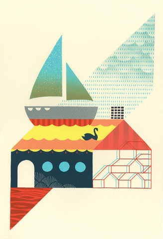 Andrew Holder: The Reel Inn Print