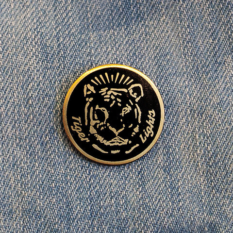 "Tiger Lights ""Tiger"" pin"