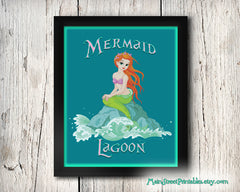 Mermaid Lagoon gift for the Under the Sea Club members