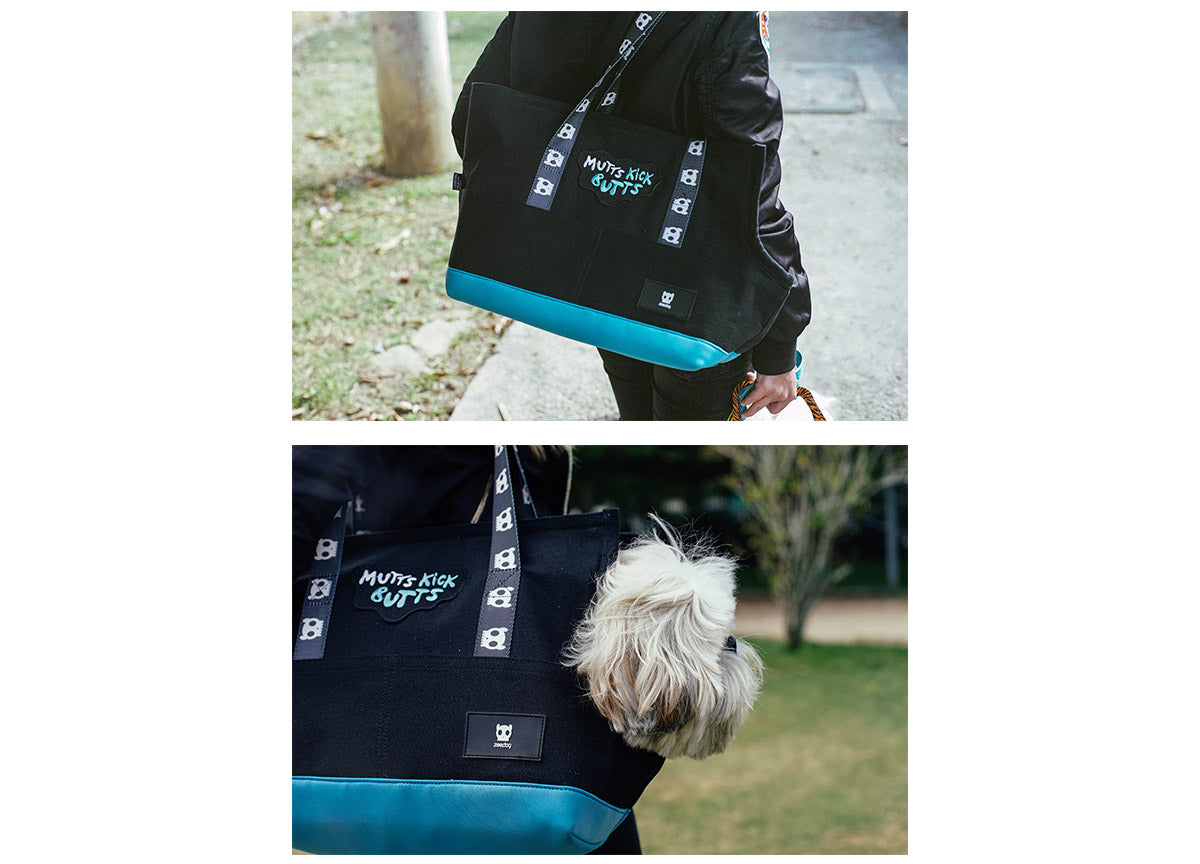 Dog in a Monoby Carrier