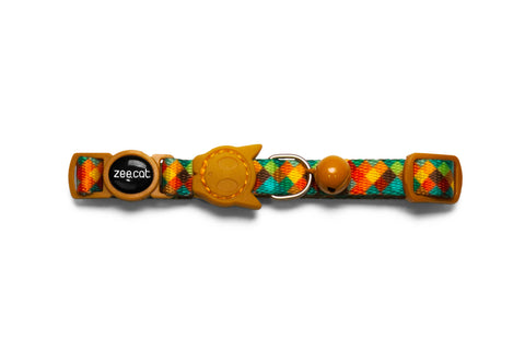 Mr. Fox cat collar | Zee.Cat