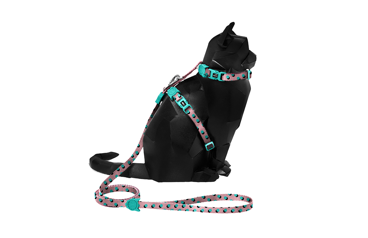 Polka | Cat Harness with Leash