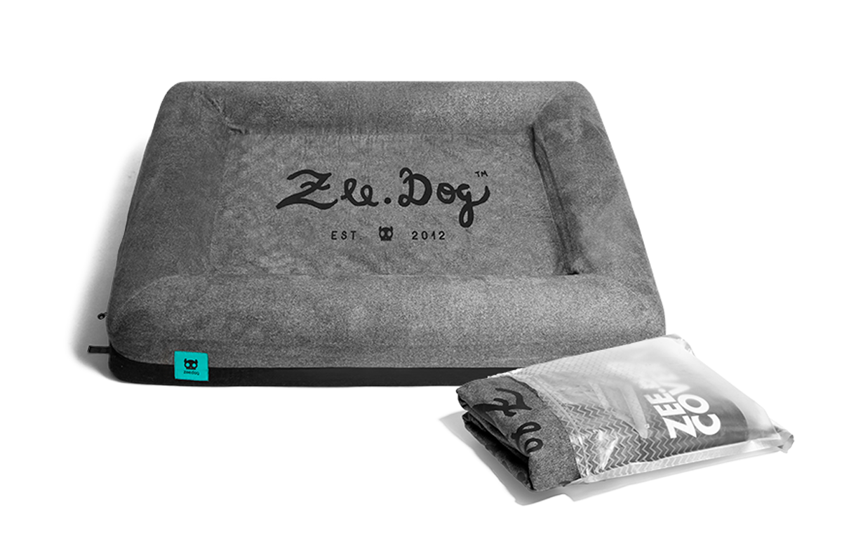Grey Logo | Bed Cover