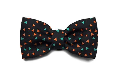 Triangles Bow Tie | Zee.Dog
