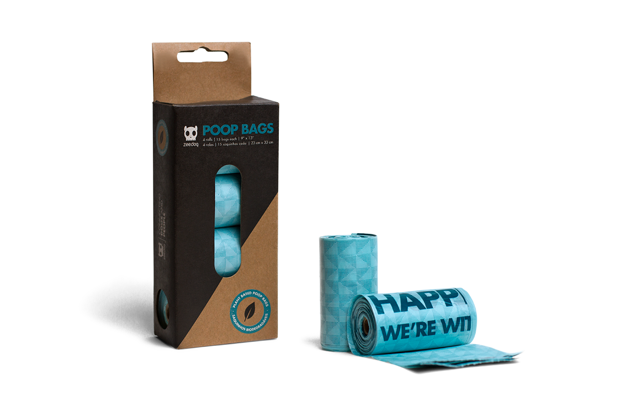 Blue | Plant Based Dog Poop Bags