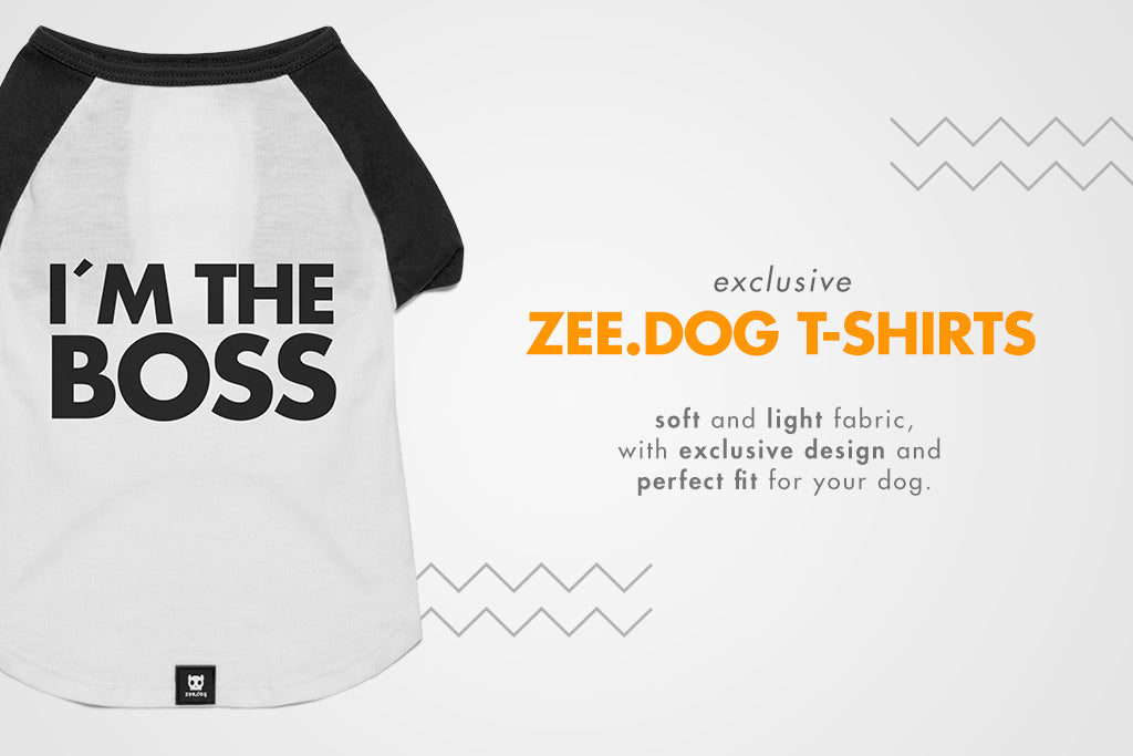 I'm The Boss | Dog T-Shirt