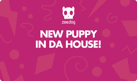 New Puppy - Pink | Celebration Gift Card