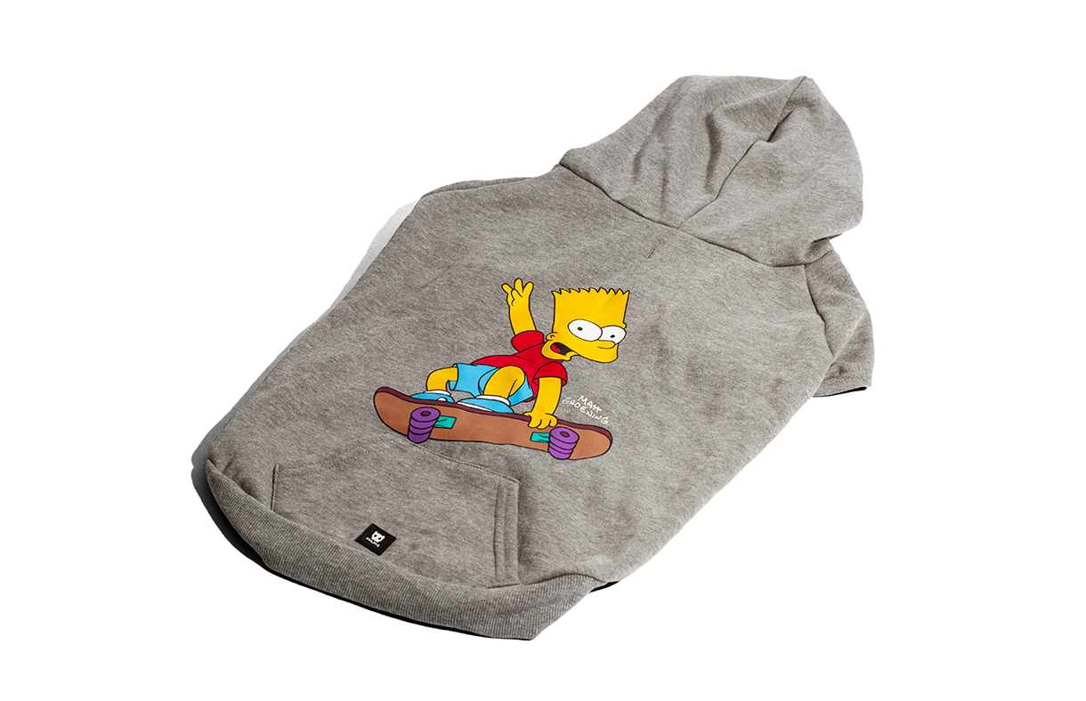 Bart Simpson Skating | Dog Hoodie