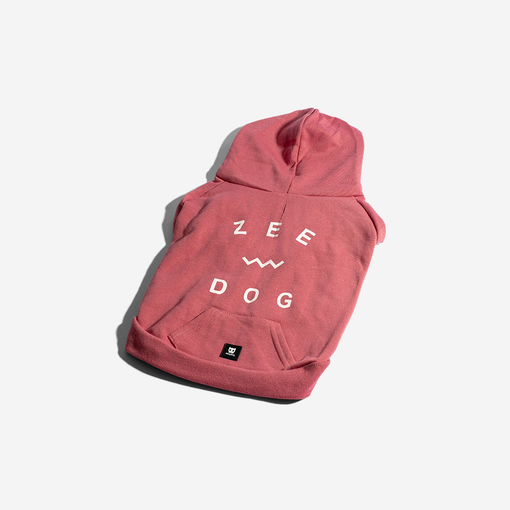 Classic Pink | Dog Hoodie