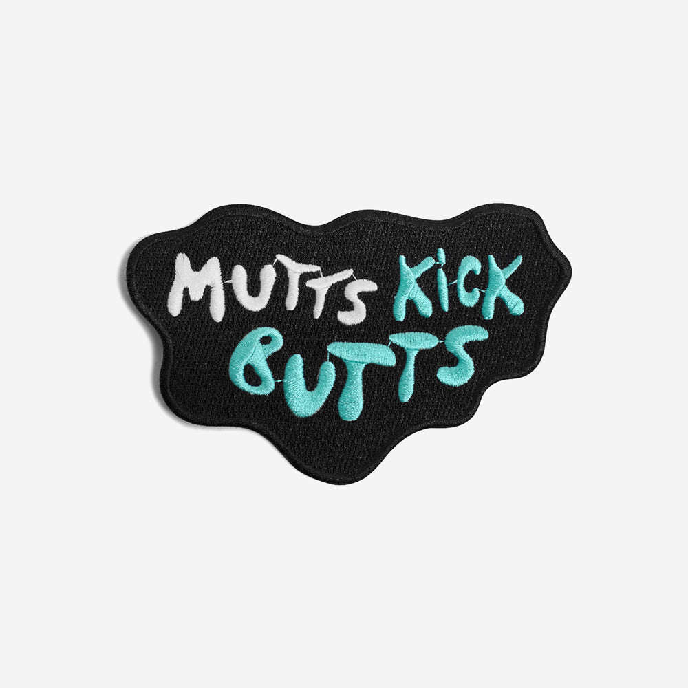 Mutts Kick Butts | Patch