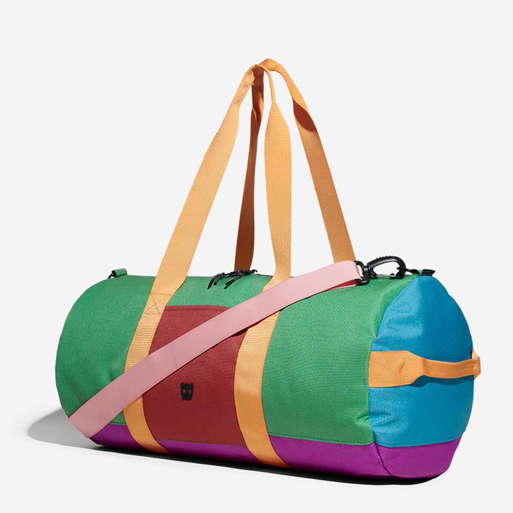 Classic Green / Blue / Purple | Duffle Bag