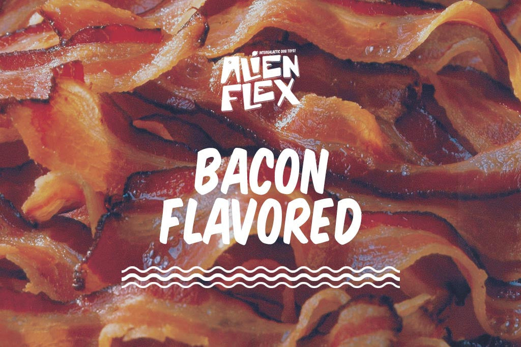 Alien Flex Key Wrench Dog Toy - Bacon Flavored | Alien Flex